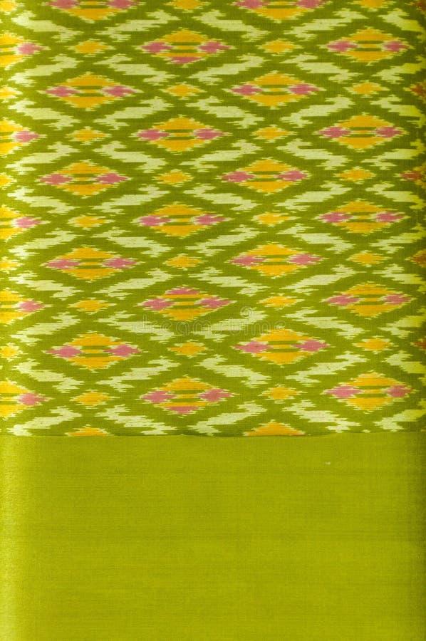 Het Thaise patroon van het zijdemotief. stock foto's