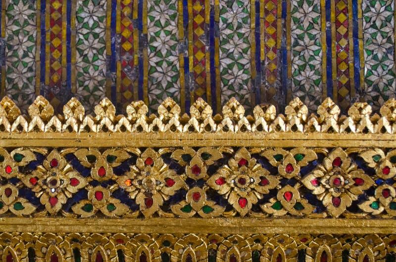 Het Thaise textuurart. royalty-vrije stock fotografie