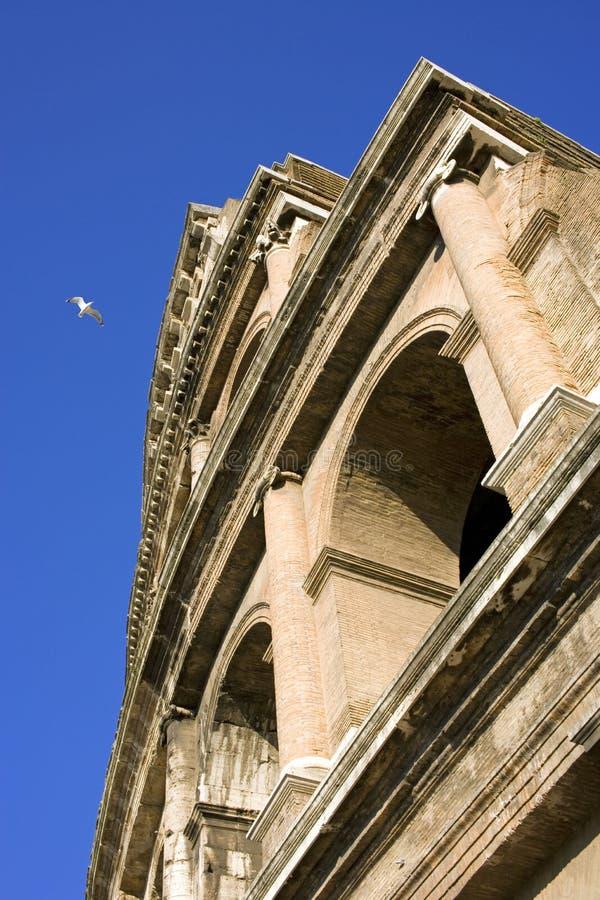 het theater van de de gladiatorarena van colosseumrome Italië stock foto's