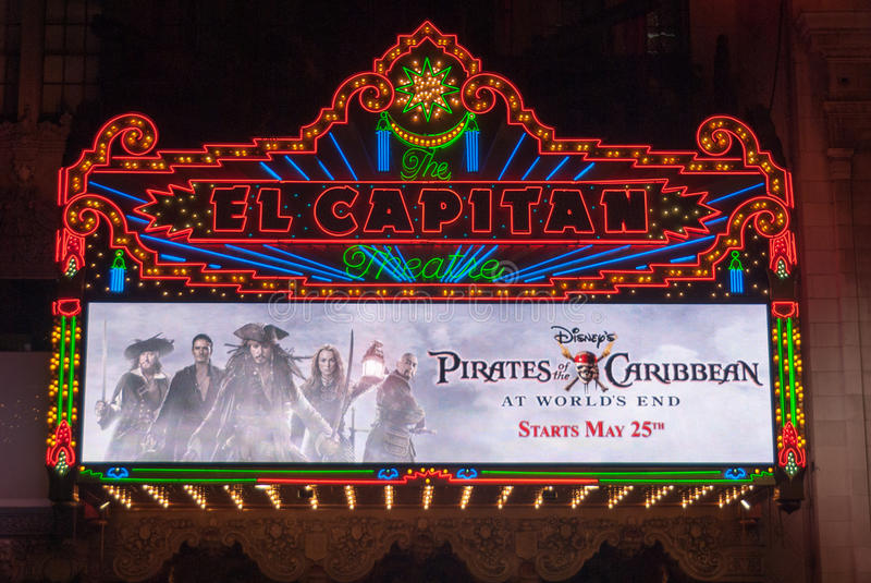 Het Theater van Gr Capitan royalty-vrije stock fotografie