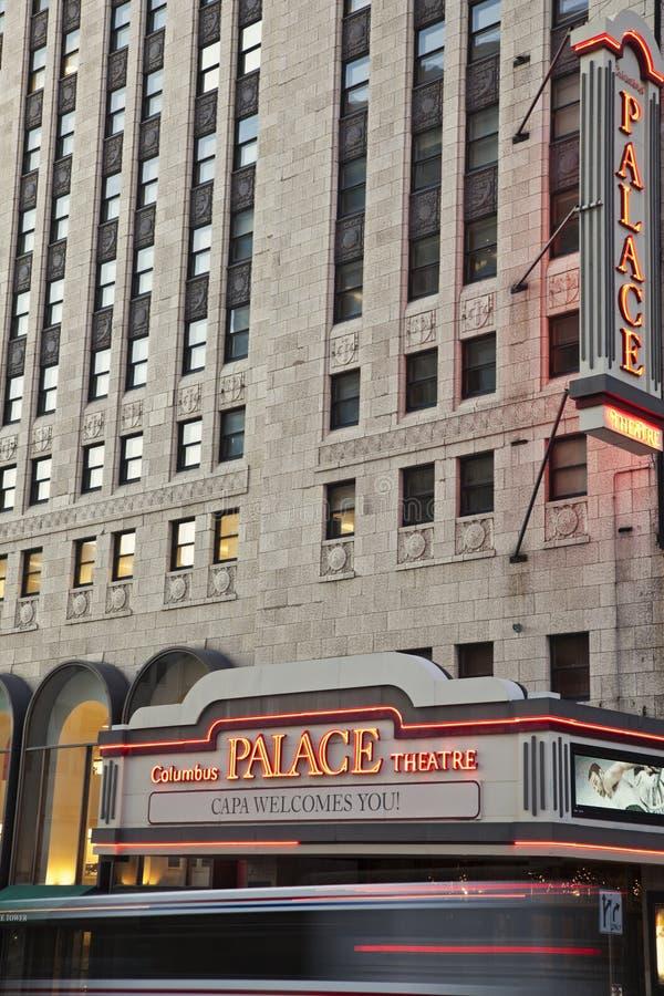 Het Theater van het paleis stock foto