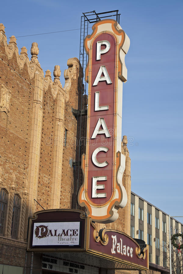 Het Theater van het paleis royalty-vrije stock foto's
