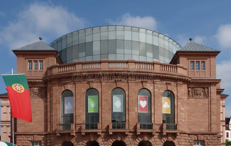 Het Theater van Mainz royalty-vrije stock fotografie