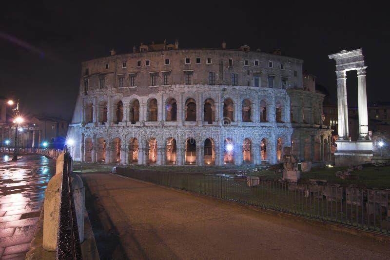 Het theater van Marcellus royalty-vrije stock foto's