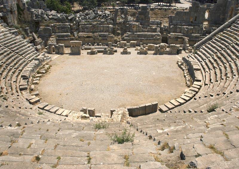 Het Theater van Myra royalty-vrije stock foto's