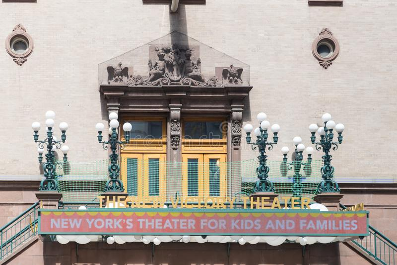 Het theater van New York ` s voor jonge geitjes en families royalty-vrije stock afbeelding