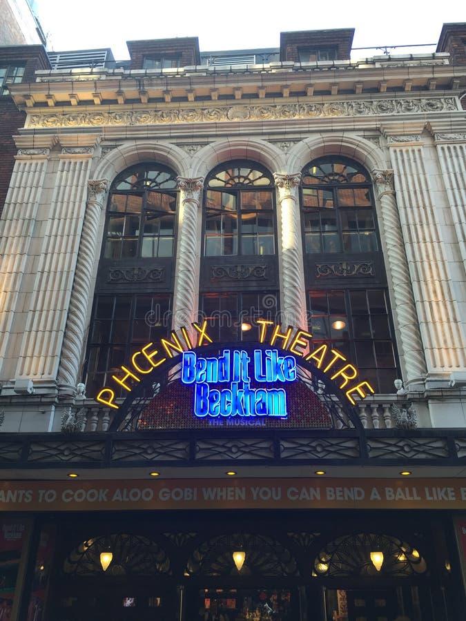 Het theater van Phoenix stock fotografie