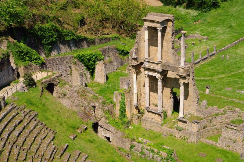 Het theater van Volterra royalty-vrije stock foto