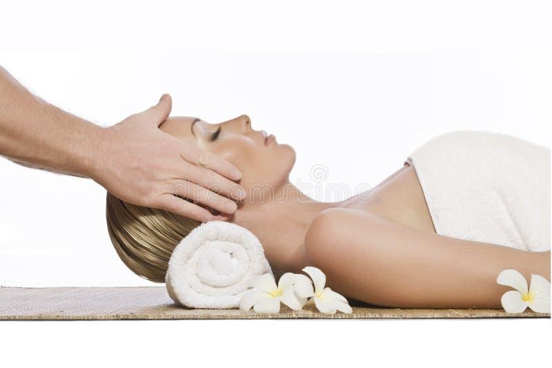 Het thema van de massage royalty-vrije stock afbeelding