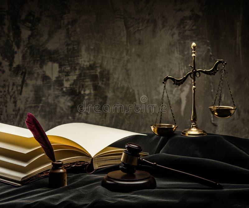 Het thema van de rechter royalty-vrije stock fotografie