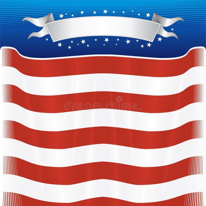 Het thema van de V.S. stock illustratie