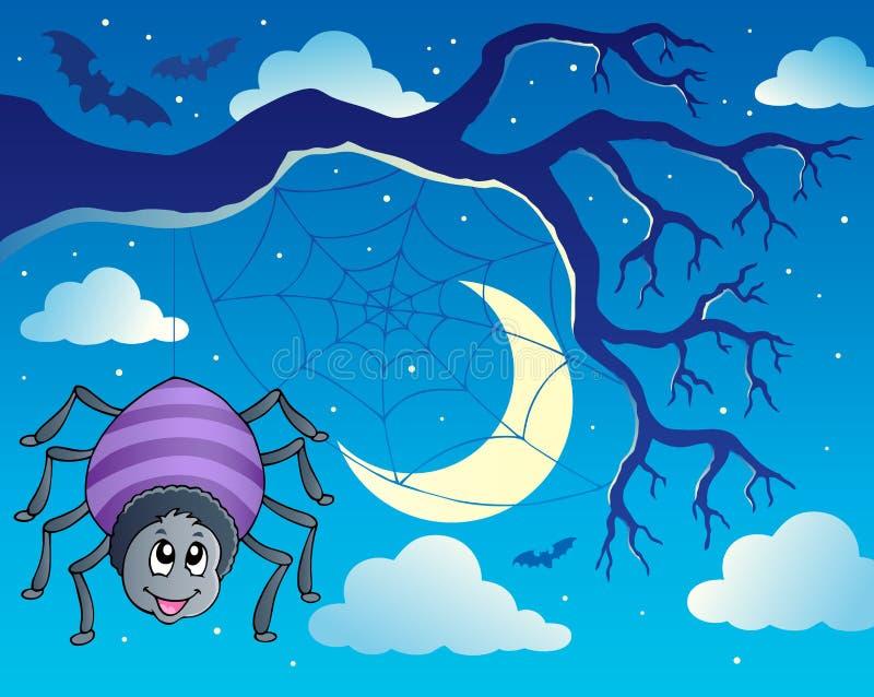 Het themabeeld 1 van de spin stock illustratie