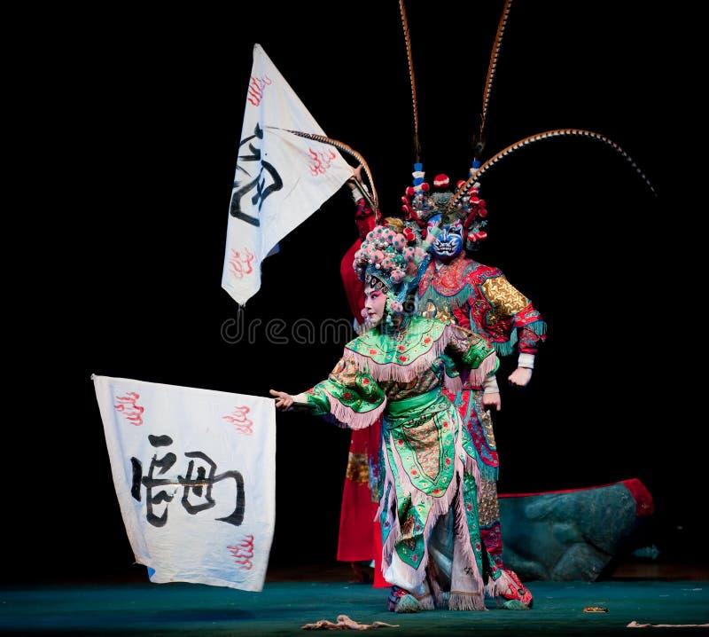 Het thor-Jiangxi operaï ¼ š Windpaviljoen royalty-vrije stock afbeeldingen
