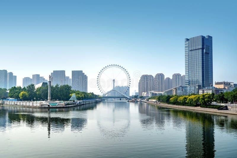 Het Tianjin-Oog royalty-vrije stock fotografie