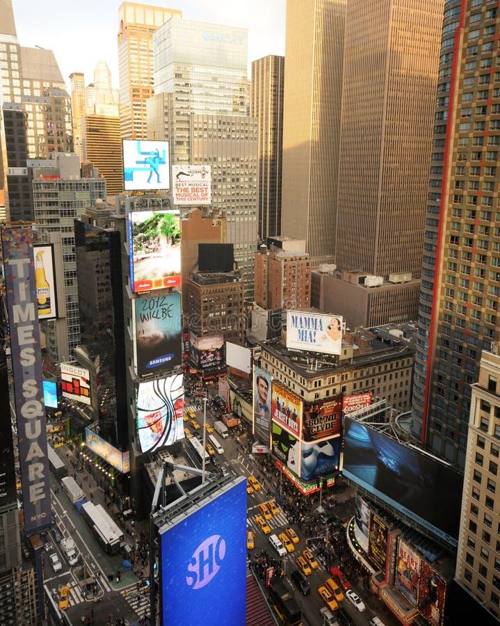 Het Times Square van de Stad van New York royalty-vrije stock foto's
