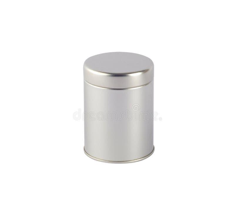 Het tin van het metaal stock afbeeldingen