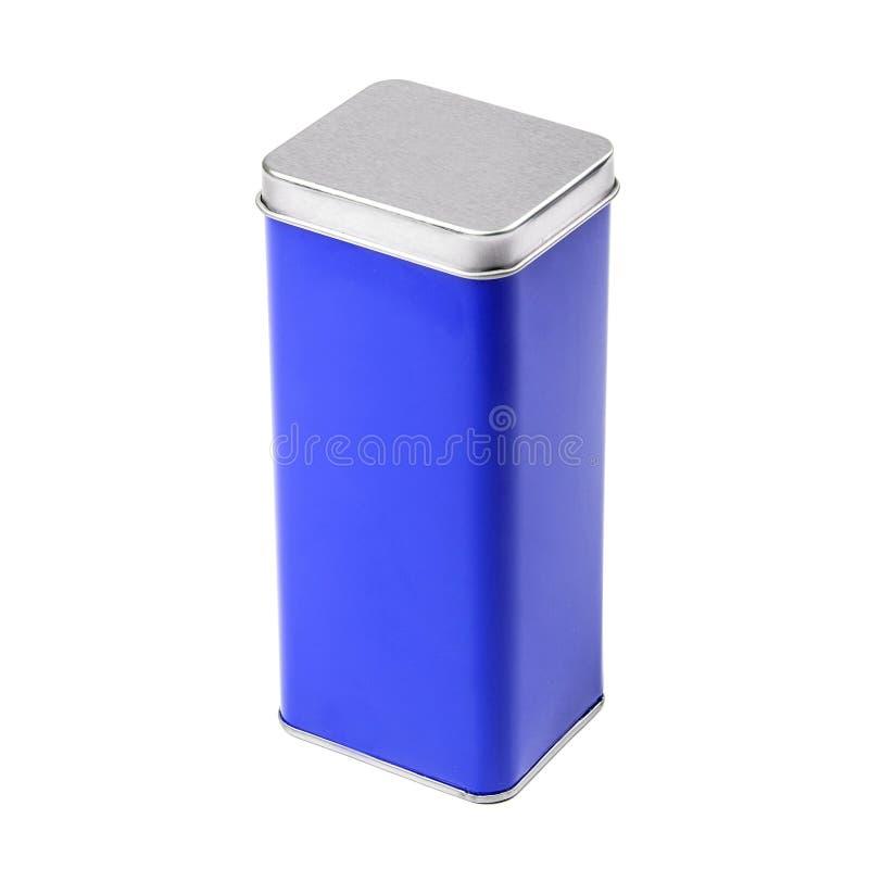 Het tin van het metaal royalty-vrije stock afbeelding