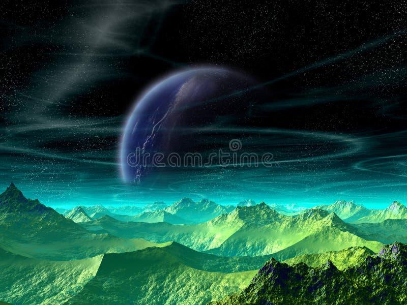 Download Het toenemen van Apeiros stock illustratie. Illustratie bestaande uit maan - 32134