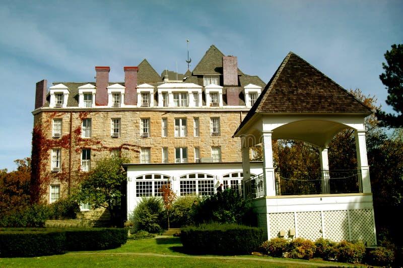 Het toenemende oriëntatiepunt van het Hotel royalty-vrije stock fotografie