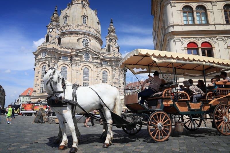 Het toerisme van Dresden royalty-vrije stock foto
