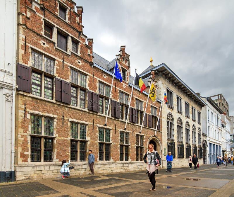 Het toerisme van het Rubenshuis stock foto