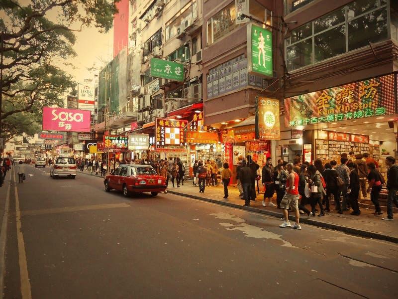 Het Toerisme van Hongkong royalty-vrije stock foto's