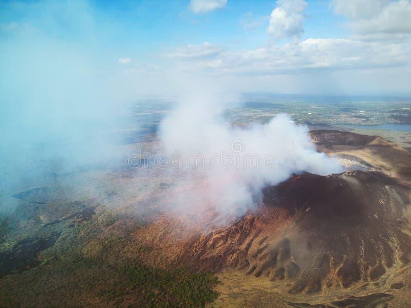 Het toerismethema van Nicaragua stock foto's