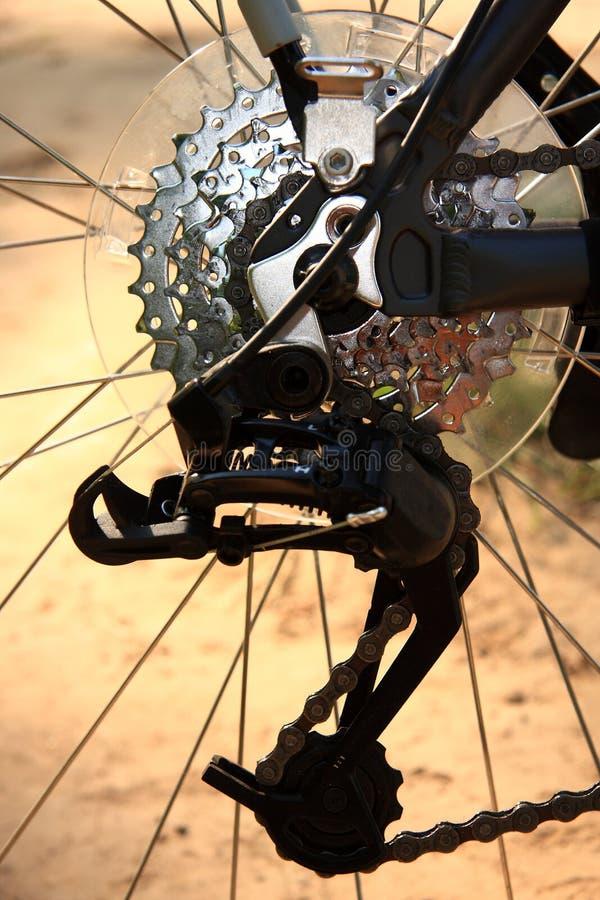 Het toestel van de fiets stock foto