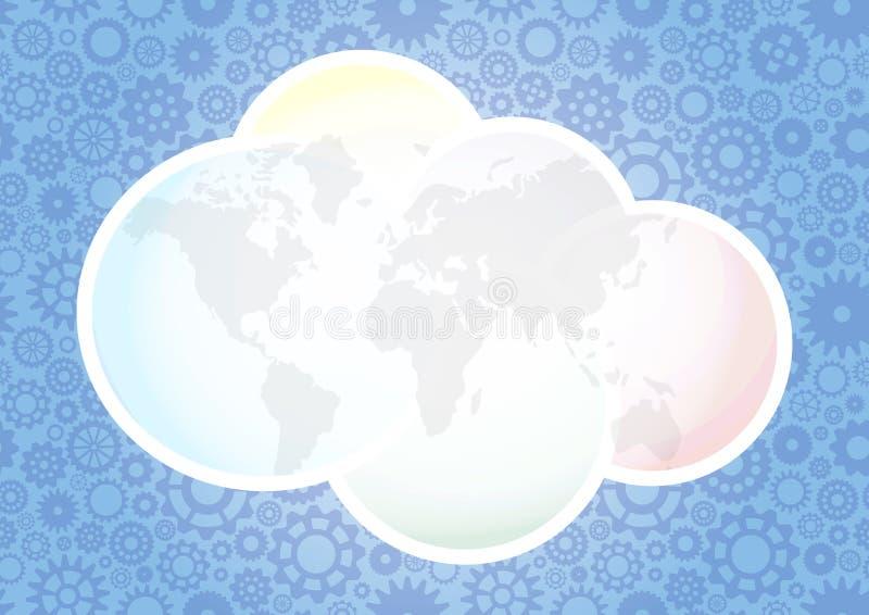 Download Het toestel van de wolk vector illustratie. Illustratie bestaande uit industry - 29510108