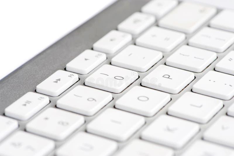 Het toetsenbord concentreerde zich op aantal 0 stock afbeeldingen