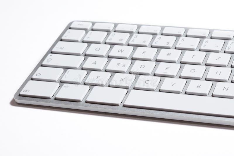 Het toetsenbord van de appel stock afbeelding