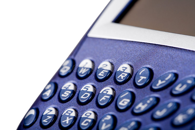 Het toetsenbord van de braambes royalty-vrije stock afbeelding