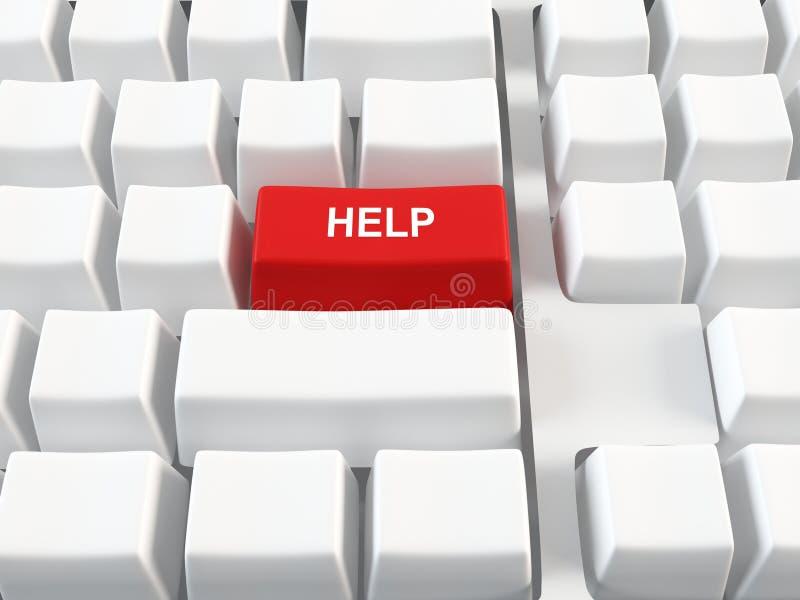 Het toetsenbord van de computer stock illustratie