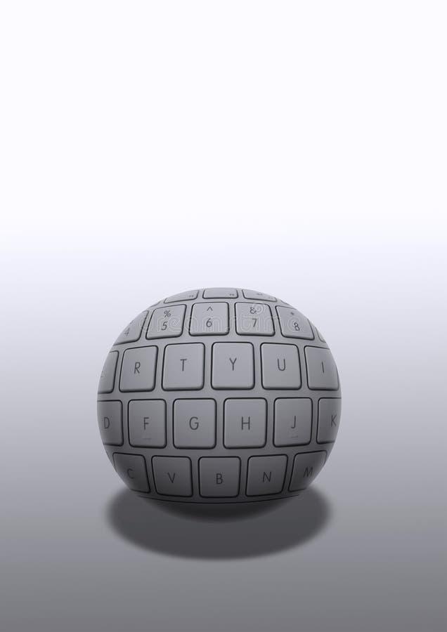 De bal van de computer vector illustratie