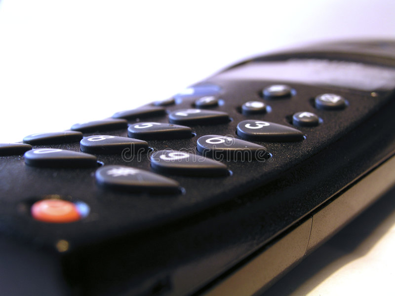 Download Het Toetsenbord Van De Telefoon Stock Afbeelding - Afbeelding: 42667
