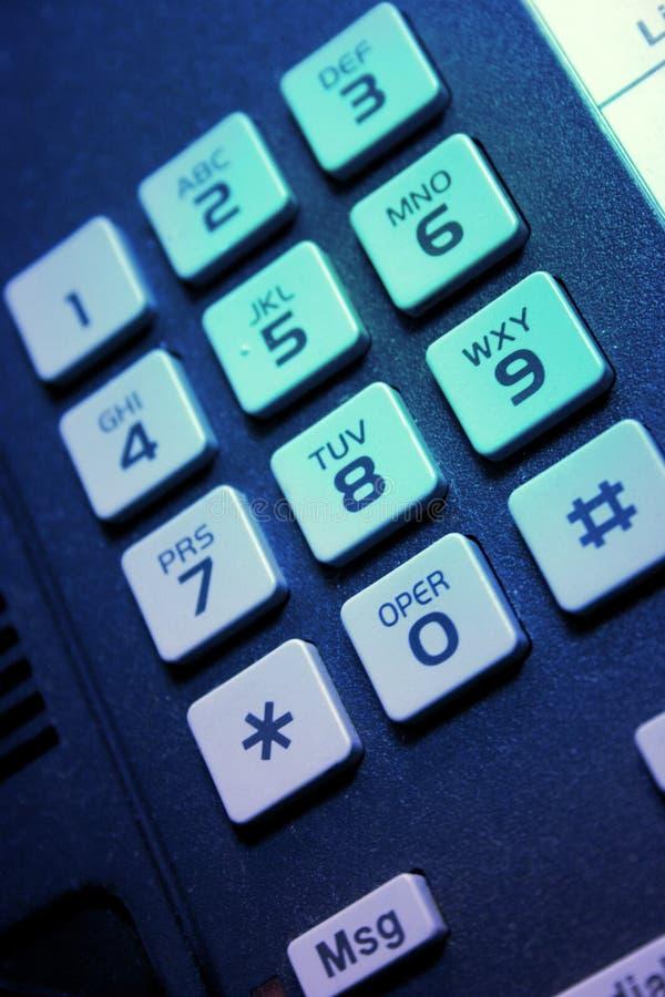 Het toetsenbord van de telefoon royalty-vrije stock foto's