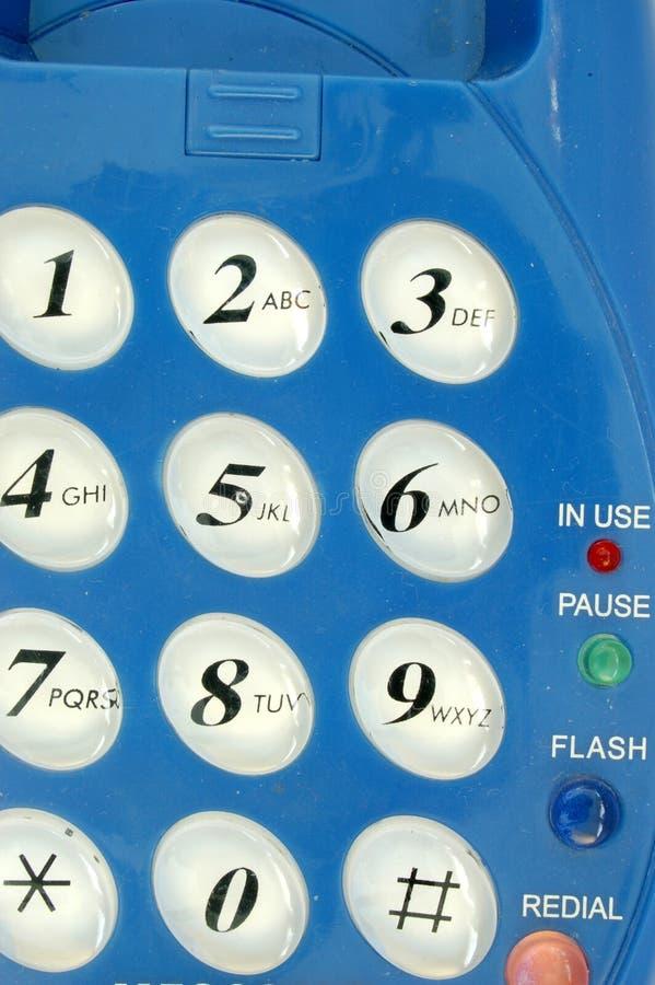 Het toetsenbord van de telefoon royalty-vrije stock fotografie