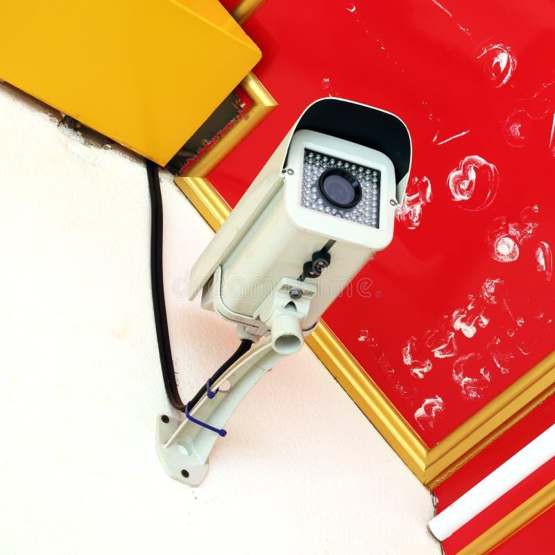 Het toezichtcamera van de veiligheid stock fotografie