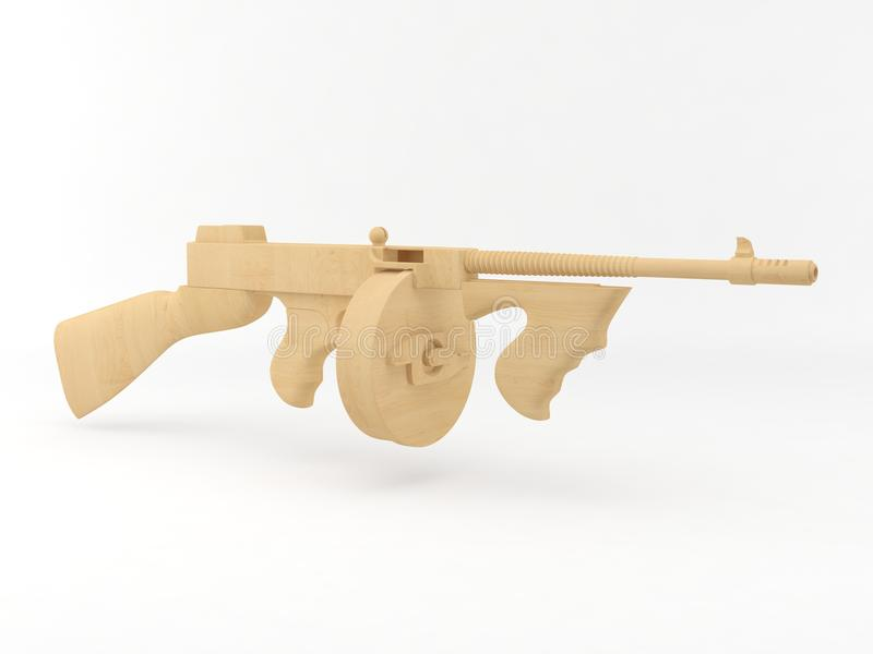 Het Tommy-kanon van het stuk speelgoed stock foto's