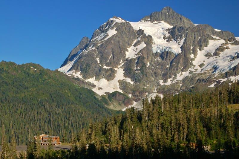Het toneel landschap van de Berg stock afbeelding