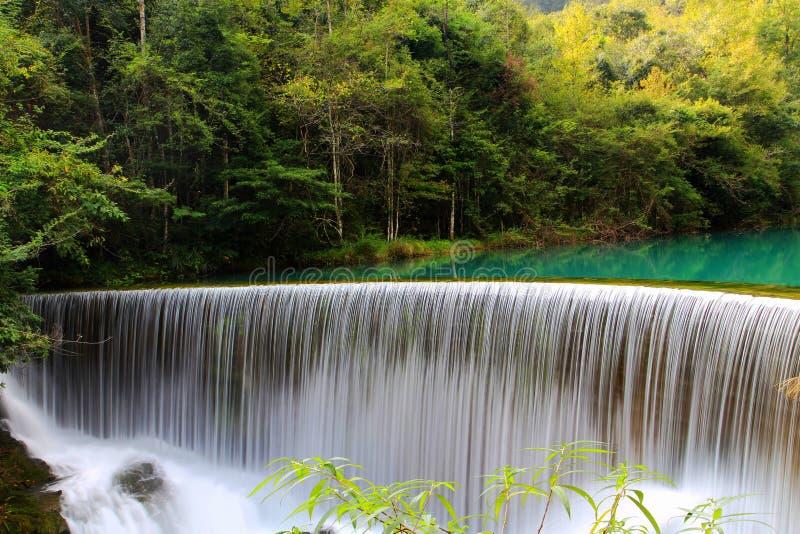 Het Toneelgebied van Guizhoulibo xiaoqikong royalty-vrije stock afbeeldingen