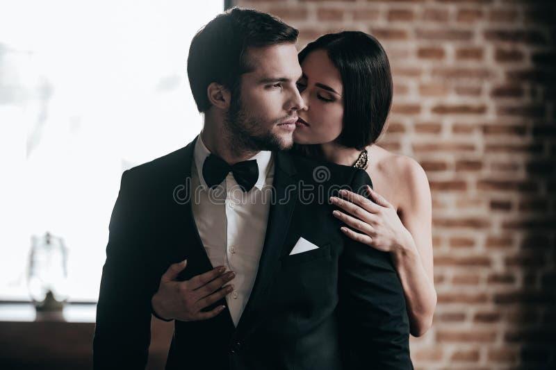 Het tonen van haar liefde royalty-vrije stock foto
