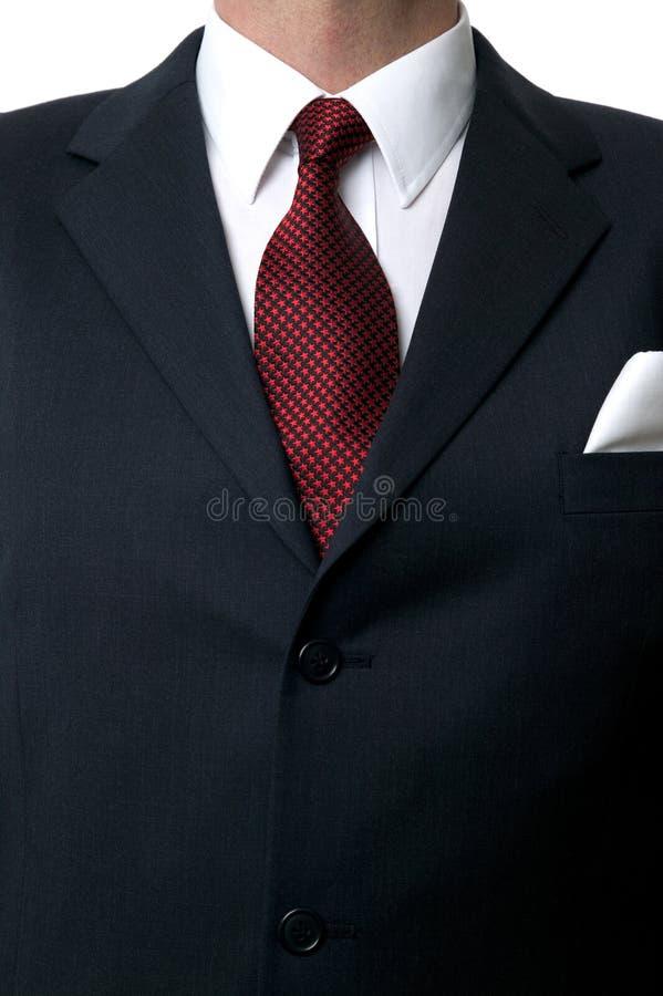 Het torso van het overhemd en van de band royalty-vrije stock fotografie