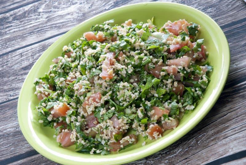 De salade van Tabbouleh royalty-vrije stock afbeelding