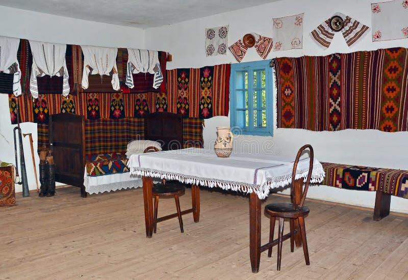 Het Traditionele Huis van Roemenië royalty-vrije stock afbeeldingen