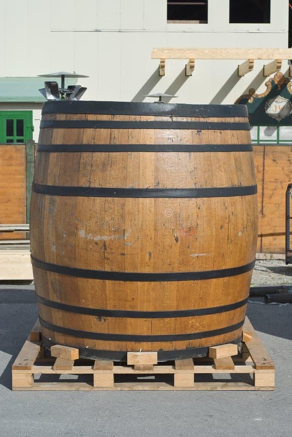 Het traditionele Vaatje van het Bier royalty-vrije stock afbeelding