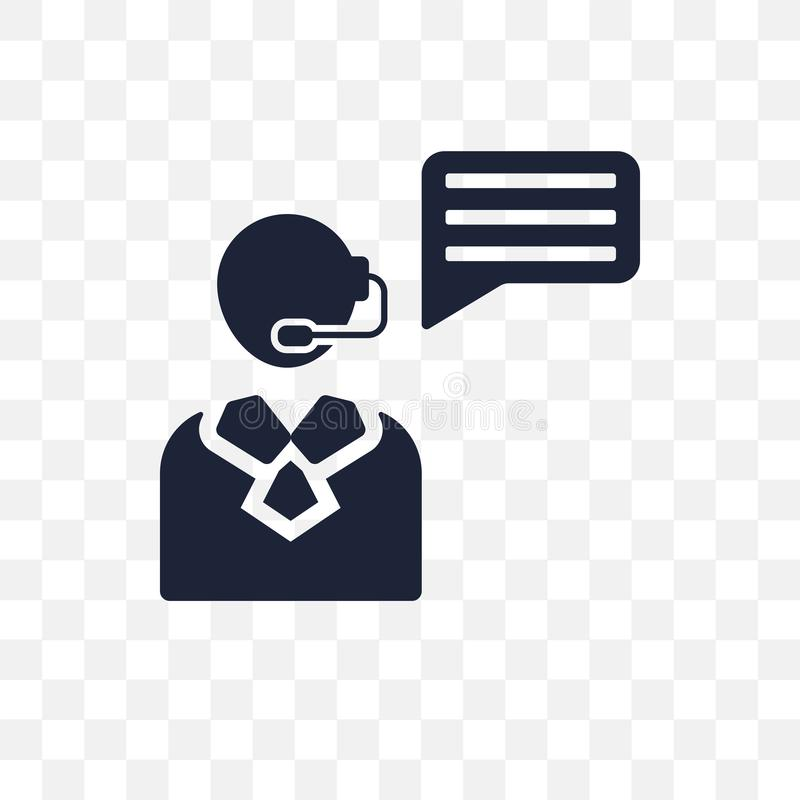 het transparante pictogram van de verzekeringsraad het symbool van de verzekeringsraad desig vector illustratie