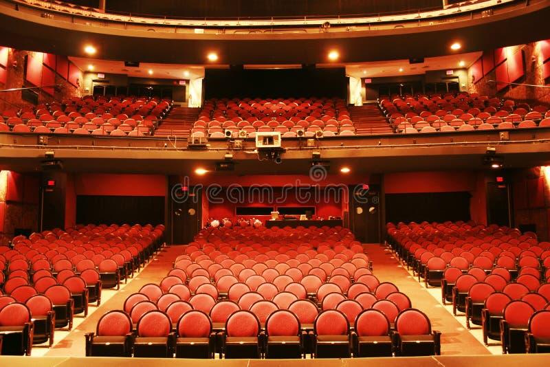 Het trefpunt van het theater stock afbeelding