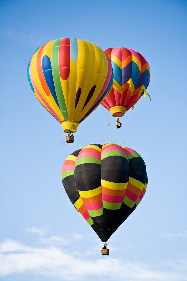 Het Trio van de ballon royalty-vrije stock foto's