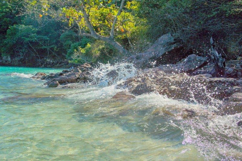 Het tropische Thaise eiland royalty-vrije stock afbeelding